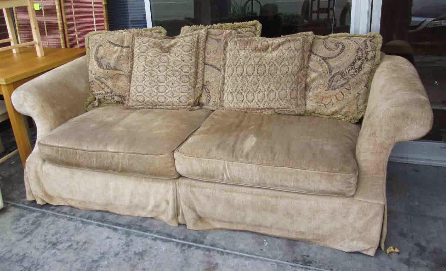 Uhuru Furniture Collectibles Sold Bernhardt Sofa 50