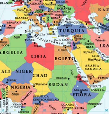 Mapas planisferio con nombres - Imagui