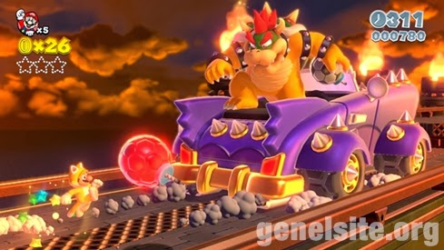 Super Mario 3D World tanıtım videosu yayınlandı