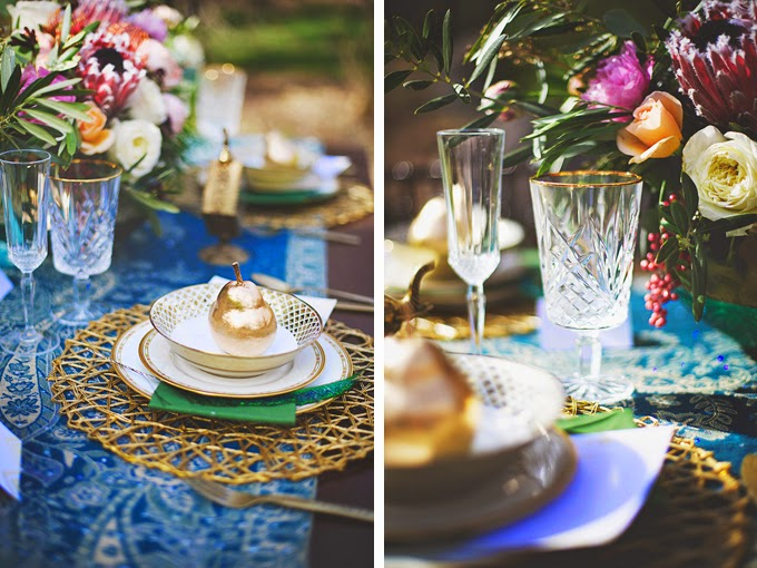 Romantic Bohemian Styled Wedding in the Woods