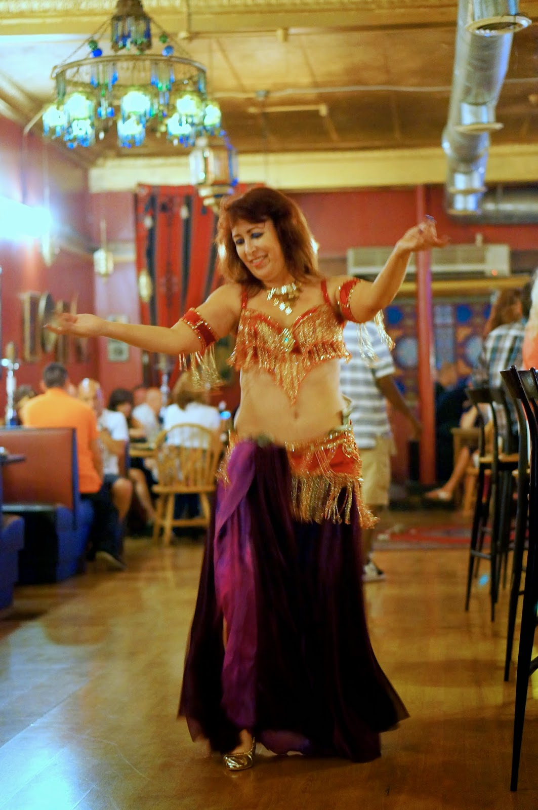 Baklave,Belly Dancer,Birthday Spree, Egypt, Elvis, Exotic Evening, Feta Dip, Hookah,Hummas,Pita Bread,Shish Kabob,ShishTawook,Stuffed,Grape Leaves,The Mirage of Knoxville Cairo Cafe,Wine.