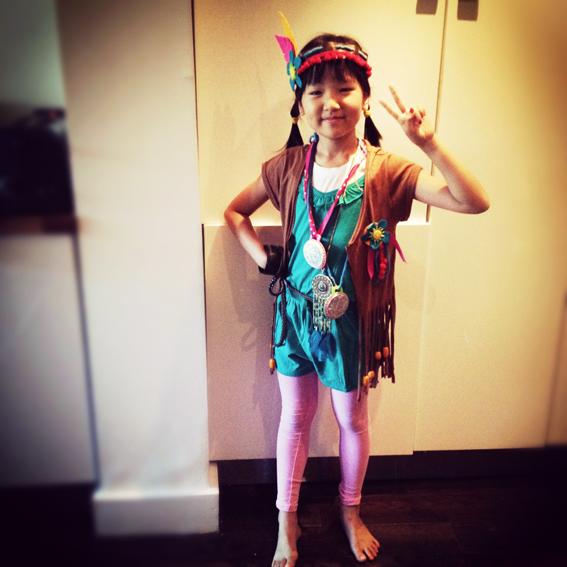 Diy Costume Pocahontas Kwak