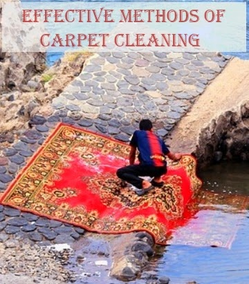 Effective Methods of Carpet Cleaning