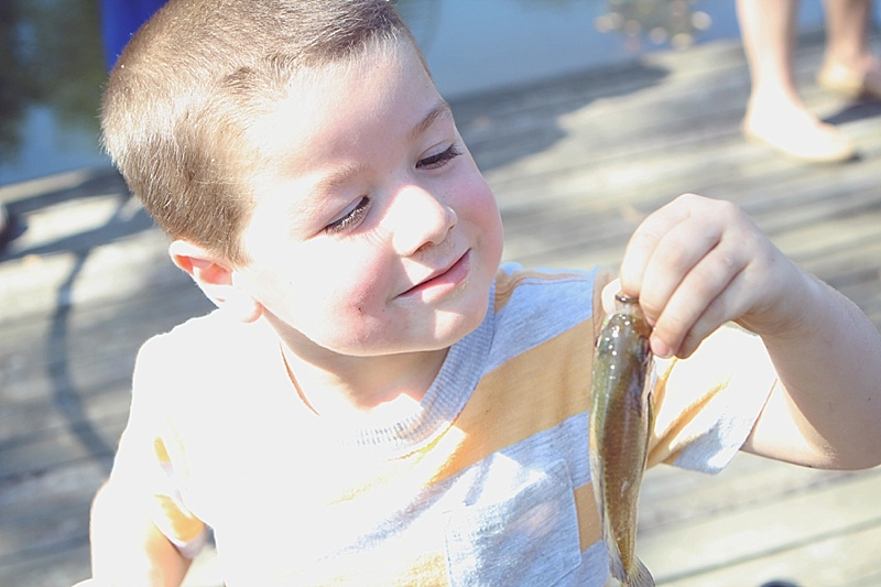 Teaching Kids to Fish the Easy Way