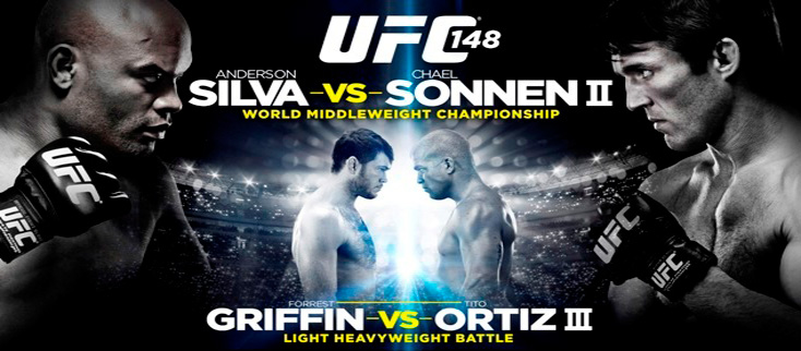 UFC 148 live streaming on HD