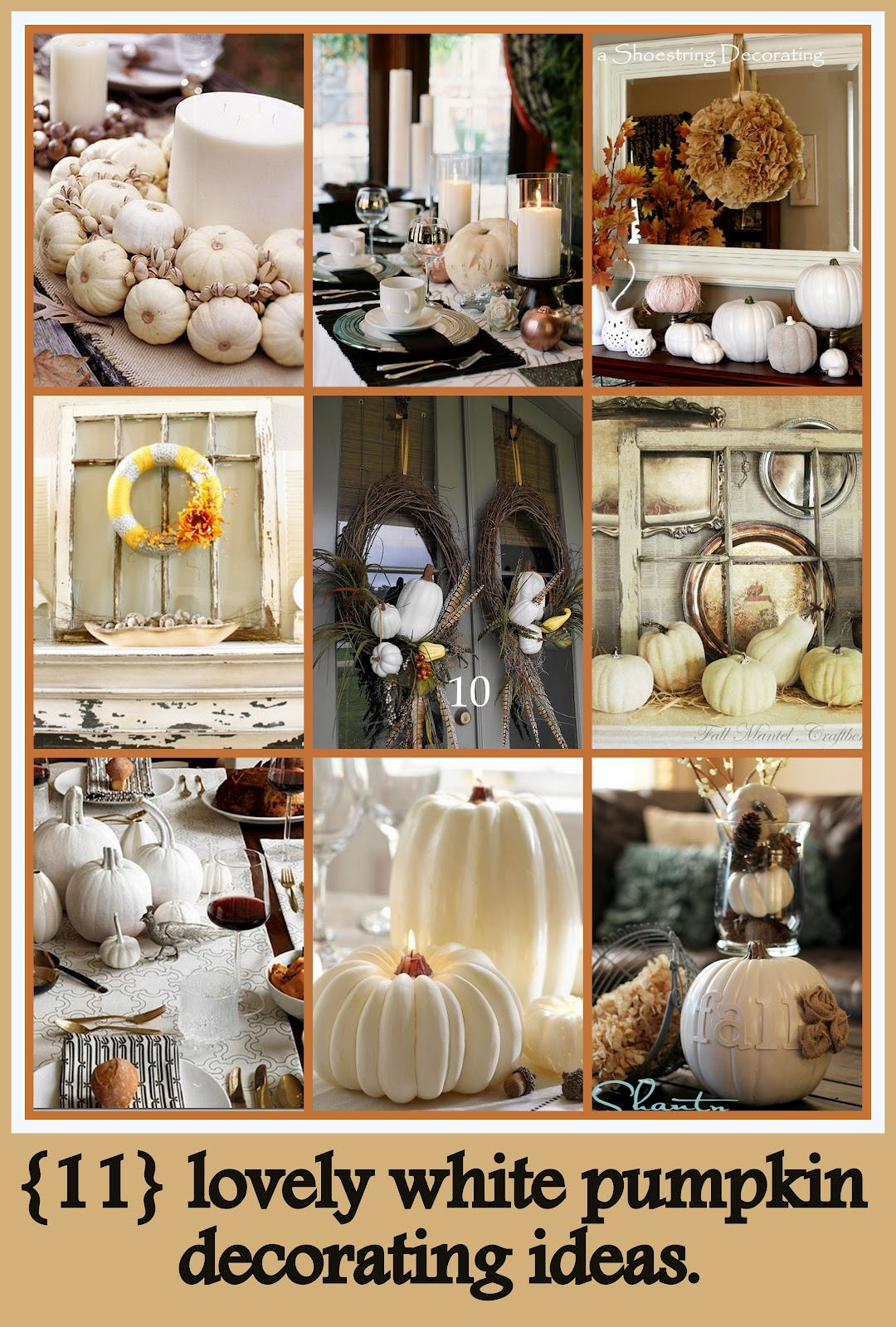 11 lovely white pumpkin decor ideas craft o maniac