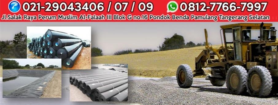 Jual Geomembrane, Geotextile, Geogrid, Kawat Bronjong