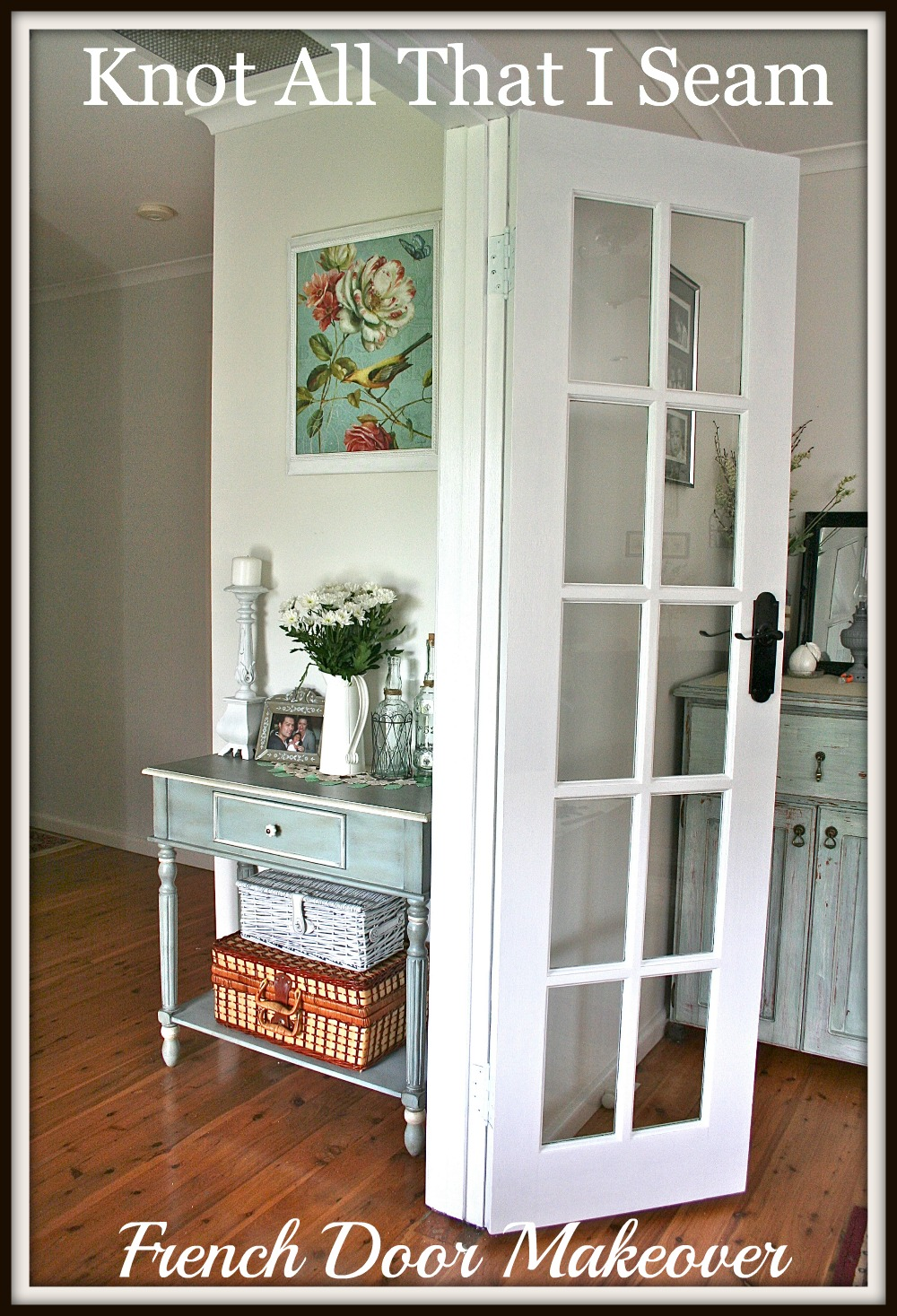White French Doors : Restyle relove white internal french door makeover