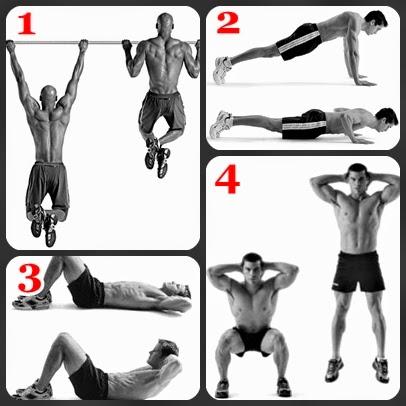 4 Basic Bodyweight Workout Exercises