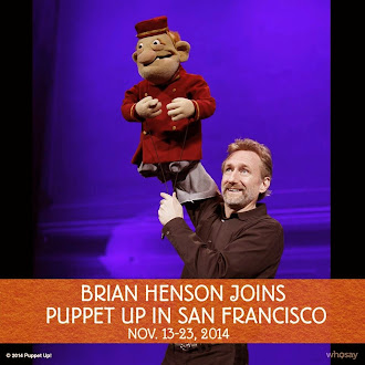 "ONLY 4 PERFORMANCES LEFT ! ""Puppet Up"" in San Francisco"