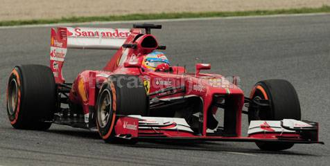 hasil f1 spanyol 2013