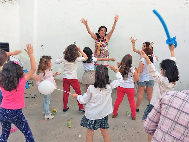 Animación infantil y payasos en La Algaba