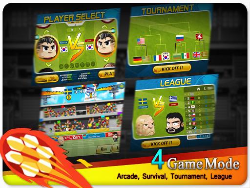 Head Soccer 2.4 full mod apk game