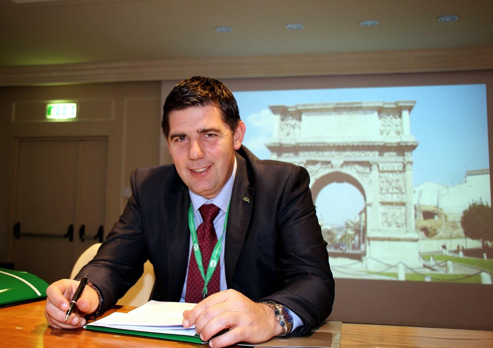 Alessandro Mastrocinque Presidente Regionale della Cia Campania