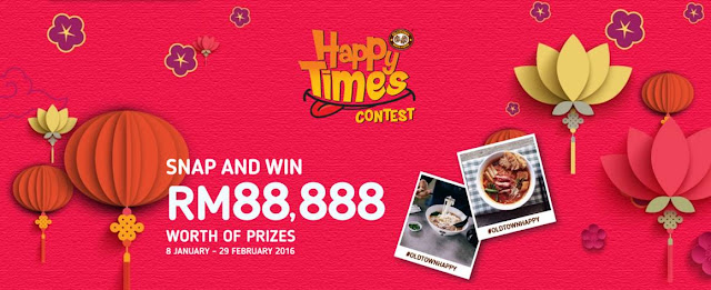 Oldtown White Coffee Happy Times Contest