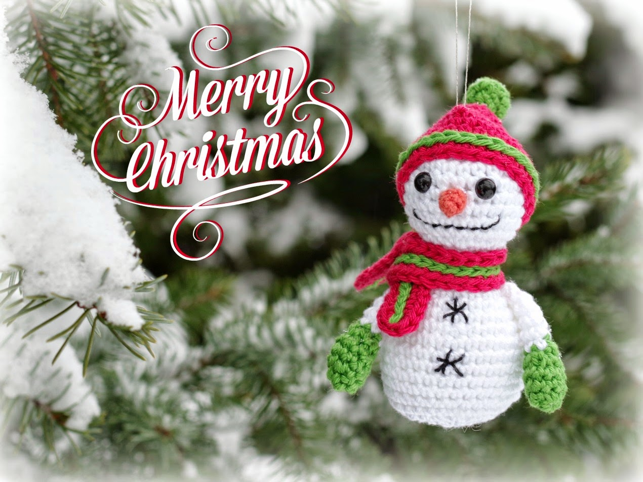 Smartapple Creations - amigurumi and crochet: Merry Christmas!