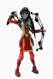 16271994610 a0a331f74c z Lego Mongolian Cyberpunk compound bow archer