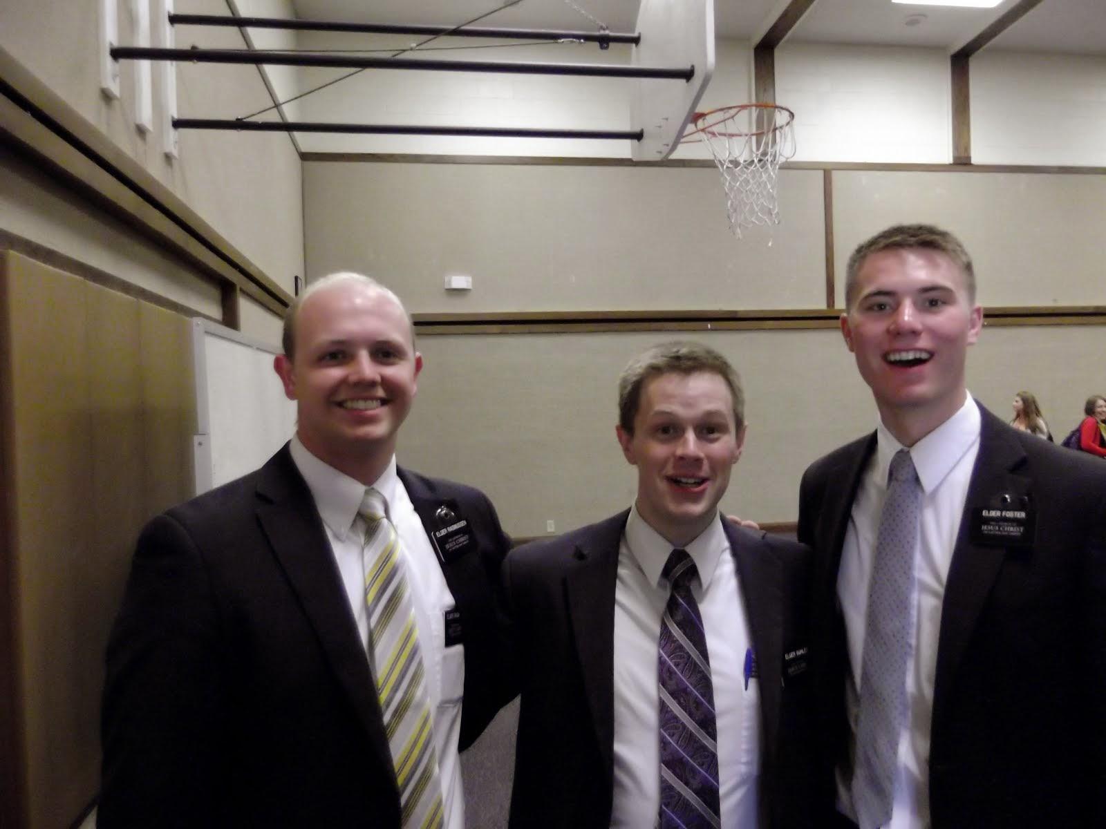 MTC Buddies - Elder Rasmussen, Elder Buhler, Elder Foster