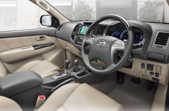 2015 Toyota Fortuner Price List