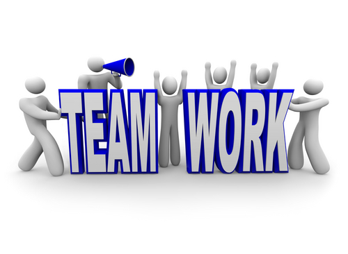 It take teamwork to start a small business