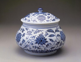 Ming Dynasty Blue-white Jar