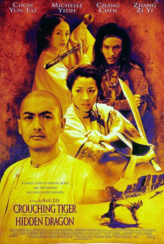 Crouching Tiger Hidden Dragon 2000 720p x264 Esub BluRay English Chinese Hindi  GOPISAHI