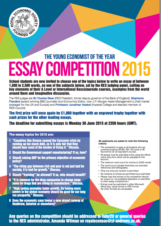 Essay contests for money 2012