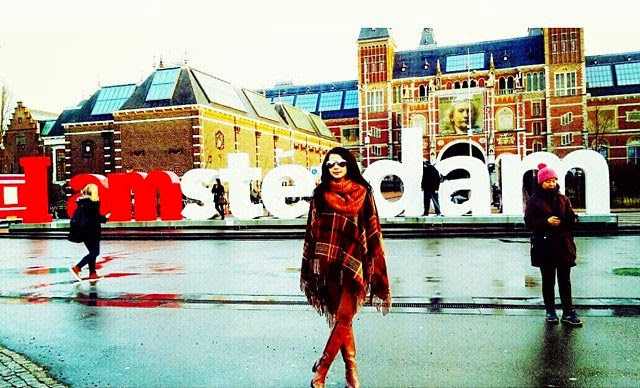 Che Ta, Zain Sambut New Year di London, Amsterdam & Paris, info, terkini, sensasi, hiburan,