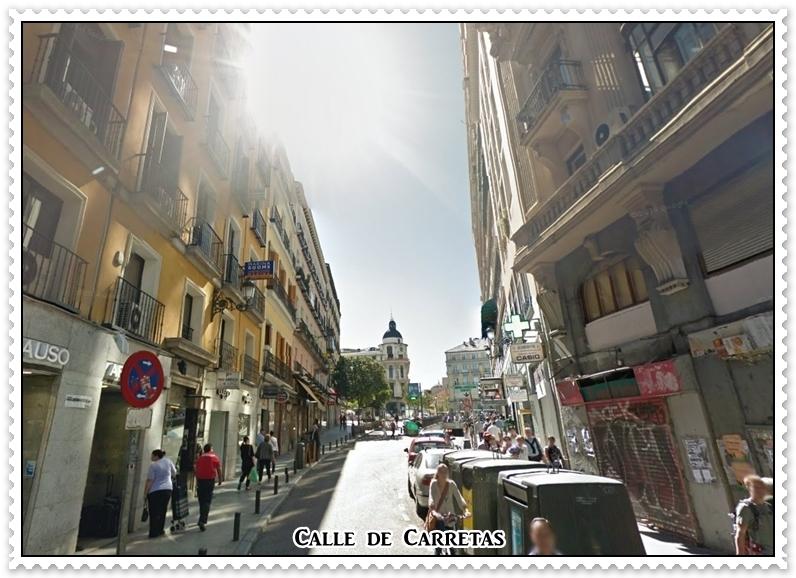 De madrid al cielo y en el cielo un agujerito para verlo for Calle loreto prado y enrique chicote