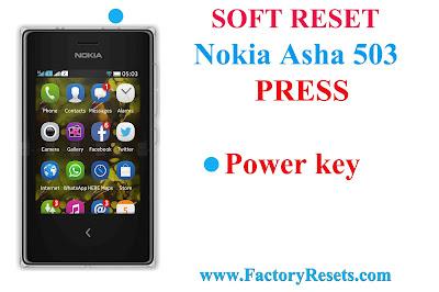 Soft Reset Nokia Asha 503