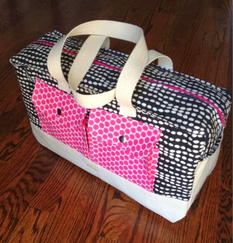DIY Cargo Bag sewing