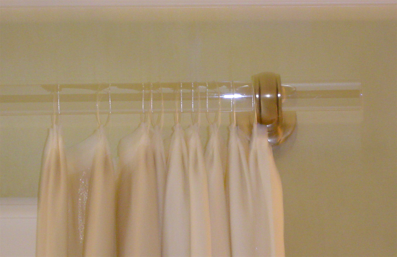Acrylic curtain rod - Acrylic Curtain Rod 18