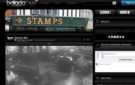 webcams de bares, restaurantes y pubs