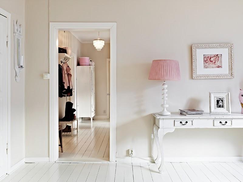 Nordico rosa y chic nordic rose and chic - Recibidor estilo nordico ...