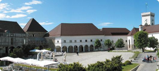 Castillo de Liubliana en Eslovenia