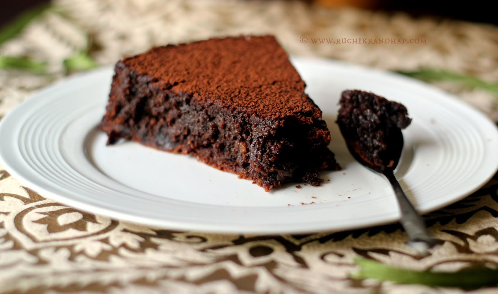 ... (Delicious Cooking): Prune and Chocolate Dessert Cake ~ Gluten Free