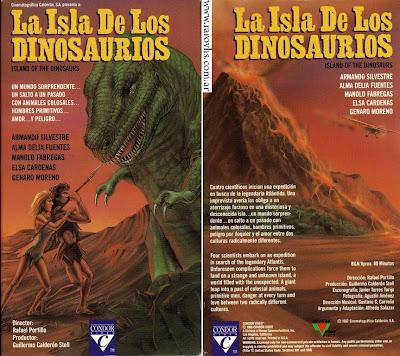 La isla de los dinosaurios (1967) Película Mexicana