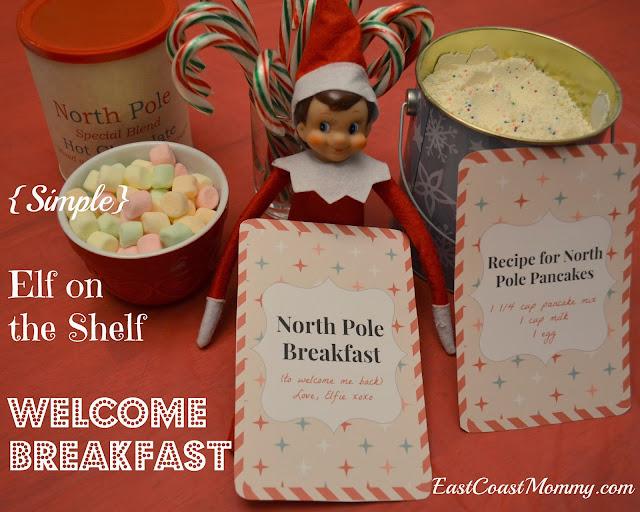 Elf On Shelf Welcome Breakfast