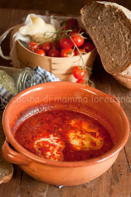 scamorza alla pizzaiola alla molisana per l'italia nel piatto e viva l'italia