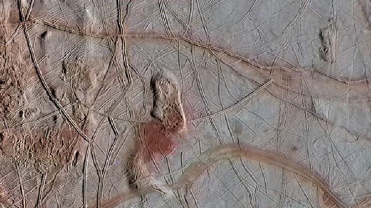 La luna Europa de Júpiter contiene condiciones para vivir