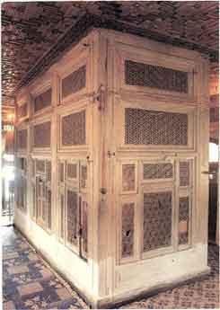 Hrobka kde má byť uložené telo Ježiša