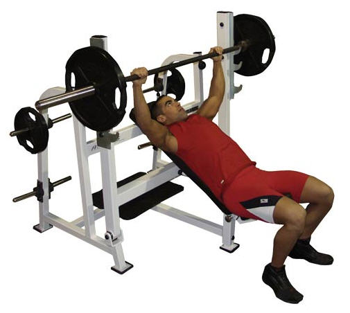 Incline bench press it is a different form of bench