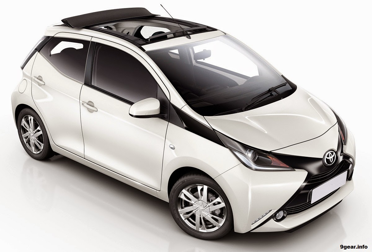 2015 Toyota Aygo X Wave Gets Convertible Roof Car