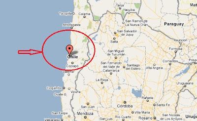 epicentro del temblor en chile hoy mañana madrugada 24 junio 2011