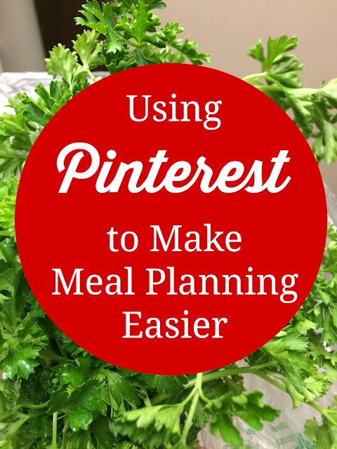 using pinterest to make meal planning easier