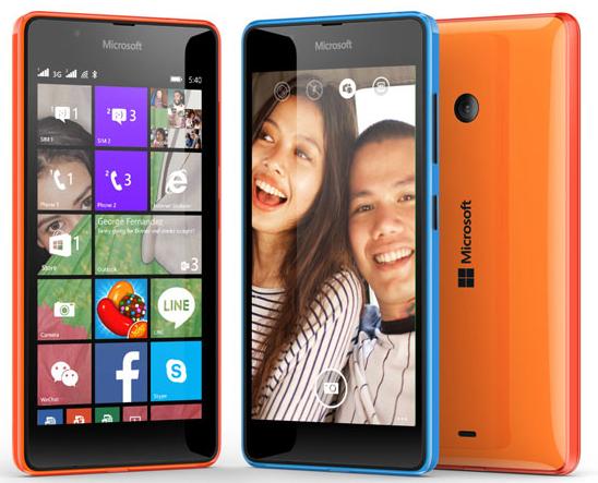 harga HP microsoft lumia 540 dual sim TERBARU 2015