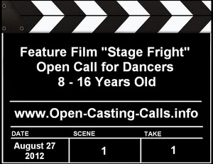 Stage Fright Dancer Casting Call Camp Manitou
