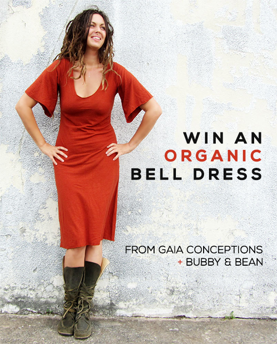 GIVEAWAY // Win An Organic Bell Dress From Gaia Conceptions and Bubby and Bean!