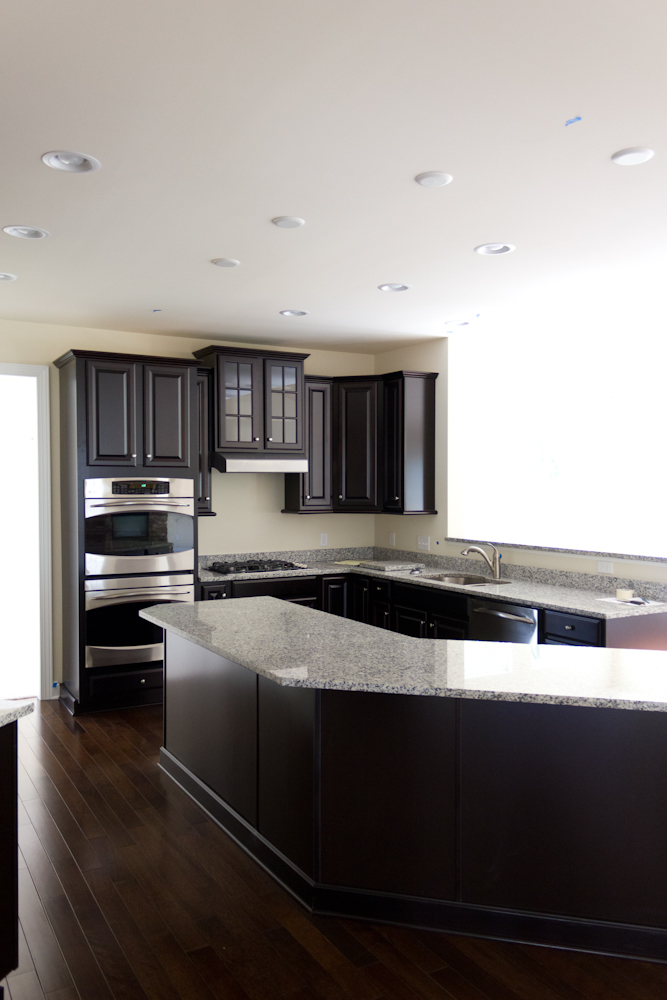 Avalon endeavor k i t c h e n is now a bad word for Grey floor black cabinets