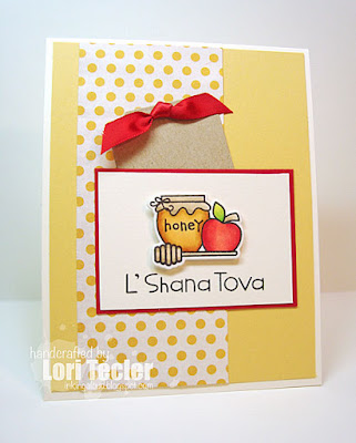 L'Shana Tova card-designed by Lori Tecler/Inking Aloud-stamps from Paper Smooches